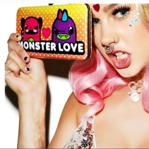 NWT MONSTER LOVE LOUNGEFLY SNAP SHUT WALLET